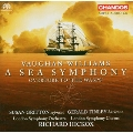 """R.V.WILLIAMS:SYMPHONY NO.1""""A SEA SYMPHONY""""/OVERTURE TO THE WASPS :RICHARD HICKOX(cond)/LSO/ETC"""