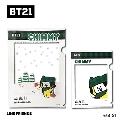 BT21 フレームクリアファイルセット/CHIMMY
