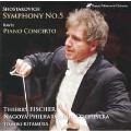 ラヴェル: ピアノ協奏曲; ショスタコーヴィチ: 交響曲第5番 Op.47