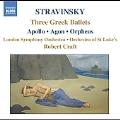 Robert Craft Collection:Stravinsky:Three Greek Ballets:Apollo Ballet In Two Scenes/Agon