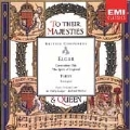 British Composers - Elgar, Parry: Odes, etc / Ledger, et al