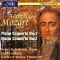 F.X.モーツァルト: ピアノ協奏曲第1番、第2番
