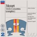 Mozart: Violin Concertos No.1-5, Sinfonia concertante K.364, etc