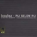 Boulez: Pli Selon Pli  / Christine Schafer(S), Pierre Boulez(cond), Ensemble Intercontemporain