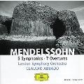 メンデルスゾーン: 交響曲全集、序曲集