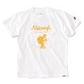 Nulbarich×WEARTHEMUSIC コラボT-Shirts 2ndカラー ホワイト×オレンジ Lサイズ