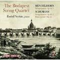 Mendelssohn: String Quartet Op.44-1; Schumann: String Quartet Op.41-1, Piano Quintet Op.44
