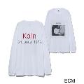 ECM×10C The Koln Concert 長袖Tシャツ(White×Red)/Mサイズ