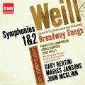 K.Weill: Symphonies No.1 - 1 Movement, No.2, Concerto for Violin & Wind Orchestra Op.12, etc