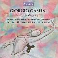 Giorgio Gaslini: Flute Works