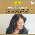 Beethoven: Piano Concerto No.1 Op.15, No.2 Op.19 / Martha Argerich(p), Giuseppe Sinopoli(cond), Philharmonia Orchestra