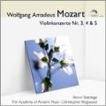 Mozart: Violin Concertos No.3-No.5