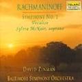 Rachmaninov: Symphony No.2, Vocalise / David Zinman(cond), Baltimore Symphony Orchestra, Sylvia McNair(S)