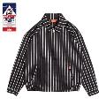 COOKMAN Delivery Jacket Stripe Black BLACK Lサイズ