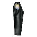 COOKMAN Chef Pants PIN STRIPE T/C BLACK L
