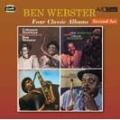 FOUR CLASSIC ALBUMS(COLEMAN HAWKINS ENCOUNTERS BEN WEBSTER / MEETS OSCAR PETERSON / BEN WEBSTER &