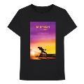 Sunset Bohemian Rhapsody Movie Tシャツ Black Mサイズ