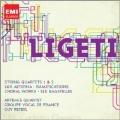Ligeti: String Quartets No.1, No.2, etc