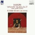 ハイドン:≪ロプコヴィッツ四重奏曲≫ 第1番&第2番 弦楽四重奏曲 第83番 作品103