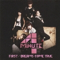 FIRST / DREAMS COME TRUE [CD+DVD]<初回盤A>