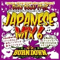 "100% JAPANESE DUB PLATES MIX CD ""BURN DOWN STYLE"" -JAPANESE MIX vol.6-"