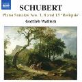 シューベルト:断章を含むピアノ・ソナタ集