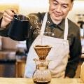 鎌倉のカフェから While roasting coffee beans