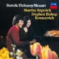 バルトーク:2台のピアノと打楽器のためのソナタ モーツァルト:アンダンテと5つの変奏曲 ドビュッシー:白と黒で