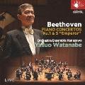 ベートーヴェン:ピアノ協奏曲第1&5番 「皇帝」