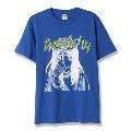 BLAH-TTE T-shirt Blue/Lサイズ