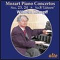 """Mozart: Piano Concertos No.23, No.24, No.8 """"Lutzow"""""""