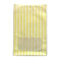 タワレコ 推し色ラッピング袋 Yellow(ストライプ)
