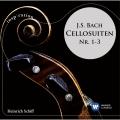J.S.バッハ: 無伴奏チェロ組曲第1-3番 (Inspiration)