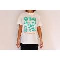 WTM Tシャツ LISTEN MUSIC(バニラホワイト) Sサイズ
