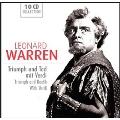 Leonard Warren - Triumph and Death with Verdi