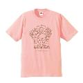 ぼのちゃん × TOWER RECORDS CAFE T-shirt ベイビーピンク Lサイズ