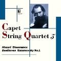 モーツァルト:弦楽四重奏曲第19番「不協和音」、ベートーヴェン:弦楽四重奏曲第7番「ラズモフスキー第1番」