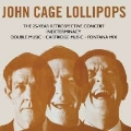 John Cage/Lollipops: 3CD Capacity Wallet