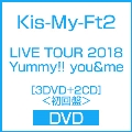 LIVE TOUR 2018 Yummy!! you&me [3DVD+2CD]<初回盤>