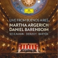 Live from Buenos Aires - Schumann, Debussy, Bartok