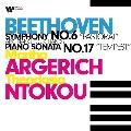 ベートーヴェン: 交響曲第6番「田園」(4手ピアノ版)&テンペスト