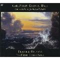 C.P.E.バッハ: ヴィオラ・ダ・ガンバとオブリガート鍵盤のための三つのソナタ/アーベル: 無伴奏ヴィオラ・ダ・ガンバ