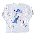 おそ松さん × TOWER RECORDS ロングT-shirt カラ松 ブルー Mサイズ