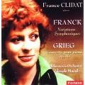 Franck: Variations Symphoniques; Grieg: Piano Concerto Op.16