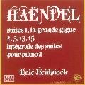 Handel: Complete Suites Vol.2; No.1-3,13,15 / Eric Heidsieck(p)