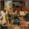 シューベルト:ピアノ三重奏曲第1番&2番
