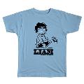 PEANUTS COMIC STYLE×ブリット・ポップ・スター T-shirt LIAM Light Blue/Lサイズ