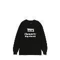 Champagne supernova 長袖T-shirt (Black)/Sサイズ