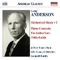 アンダーソン:管弦楽作品集 第1集
