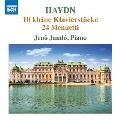 ハイドン: ピアノのための10の小品と24のメヌエット